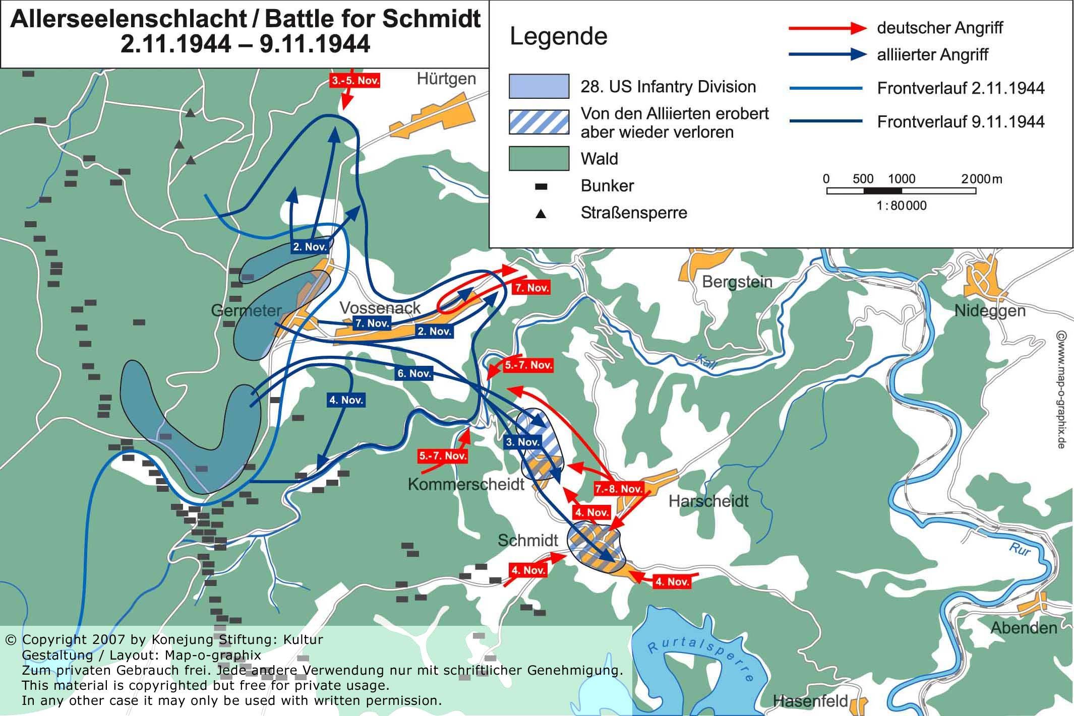 hürtgenwald bunker karte .huertgenmovie.  YOU ENTER GERMANY   Konejung Stiftung: Kultur